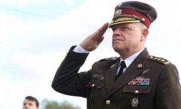 Bijušais NBS komandieris Graube tiek atvaļināts no profesionālā dienesta