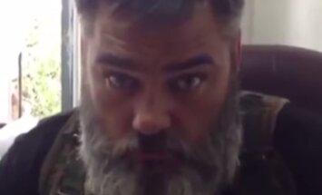 Video: Bārdainais separātists 'Babajs' uzzina par jauno Ukrainas prezidentu un sola viņu nogalināt