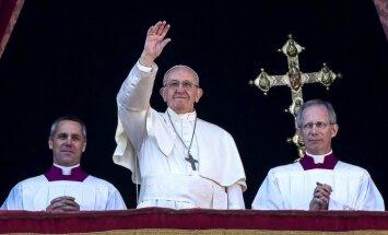 Папа Франциск накануне своего визита приветствовал жителей Балтийских стран