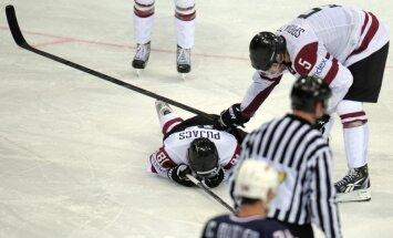 Pujaca dalība spēlē pret Austriju pašlaik neskaidra