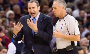 Mediji: 'Cavaliers' atlaidusi galveno treneri Blatu