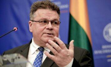 Lietuvai nav iemesla pārvērtēt nostāju pret Krieviju, paziņo ministrs