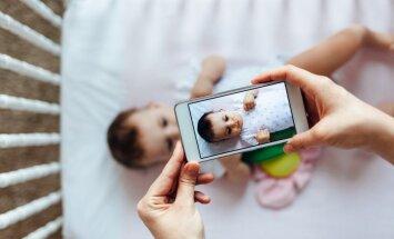 Astoņas bērna fotogrāfijas, kuras nevajadzētu publicēt