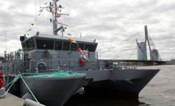 Sūces dēļ jahta 'Angelina' lūdz Krasta apsardzes palīdzību nonākt Lielupes ostā