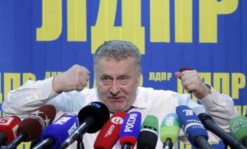 Kijevas tiesa liek arestēt Šoigu, Žirinovski un Zjuganovu
