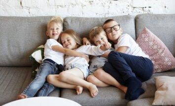 Vieniem vecākiem dažādi bērni: kas nosaka bērna temperamentu