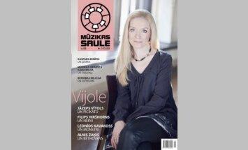 Žurnāla 'Mūzikas saule' pavasara laidiena uzmanības lokā - vijole