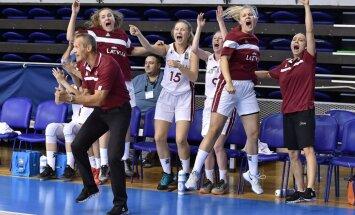 Eiropā vairs neesam nekādi peramie, norāda U-18 izlases treneris Čukste