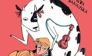 Jauna grāmata pusaudžu auditorijai - 'Govs uz bagāžnieka'