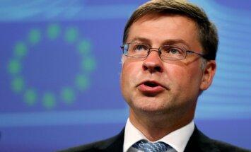 TTIP tālāka virzība šobrīd ir neskaidra, uzsver Dombrovskis