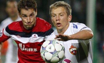 Cauņas pārstāvētā CSKA komanda izcīna sesto uzvaru pēc kārtas Krievijas čempionāta spēlēs