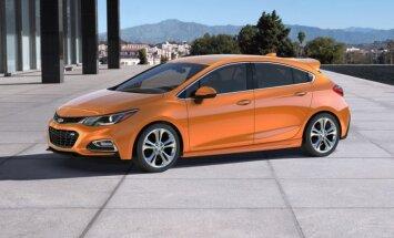 Jaunais 'Chevrolet Cruze' hečbeks uz 'Opel Astra' platformas