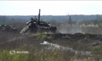 Video: Krasnodaras novadā notiek tanku mācības