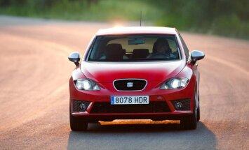 'SEAT Leon' sportiskā versija 'FR' iegūst jaunus dzinējus