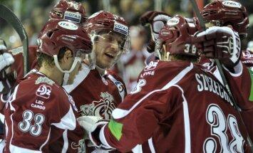 Indraša un Ščehuras sadarbība iekļauta KHL nedēļas vārtu guvumu TOP 10
