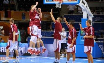 Latvijas basketbolisti EČ finālturnīros: čempioni, 'būt vai nebūt' un jaunie laiki
