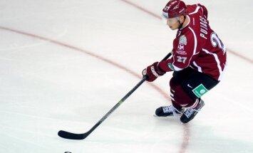 Rīgas 'Dinamo' savā laukumā uzņem Kuldu ar 'Salavat Julajev'