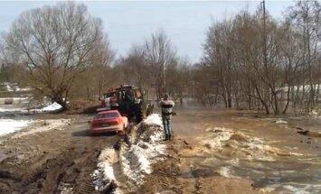 Plūdi Latvijā: LPS prasa mainīt likumu ārkārtas situācijas izsludināšanai