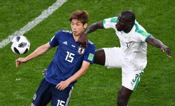 Senegālas un Japānas futbolisti fantastiskā duelī cīnās neizšķirti