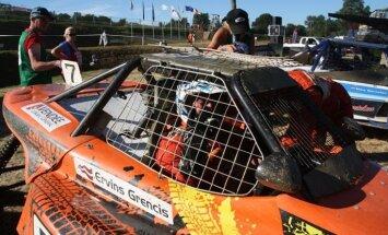 Ervins Grencis izcīna uzvaru Eiropas autokrosa čempionāta septītajā posmā