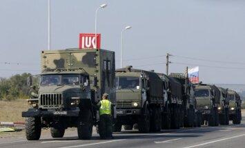 Žurnālisti 'tviterī' publicē attēlus ar Krievijas militāro tehniku pie Ukrainas robežām