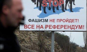 Eksperts: Krimas parlamentam nav pārliecības par sev vēlamu referenduma iznākumu