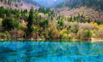 Rozā, plankumaini, sāļi – 10 pasaules skaistākie un neparastākie ezeri