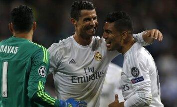 UEFA Čempionu līgas izlasē iekļauti seši 'Real Madrid' futbolisti