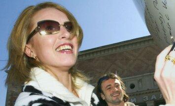 Krievijas daiļslidotāja Lobačova apprecējusies ar 16 gadus jaunāku vīrieti