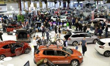 Jau šonedēļ Ķīpsalā durvis vērs izstāde 'Auto 2015'