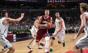 Latvijas izlase apsteidz Lietuvu neoficiālajā rangā pirms 'Eurobasket 2017'