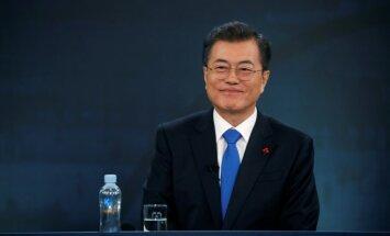 Ziemeļkoreja vēlas sarunas ar ASV, paziņo Dienvidkorejas prezidents