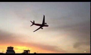 ВИДЕО: Необычный трюк при посадке последнего трансатлантического рейса Air Berlin