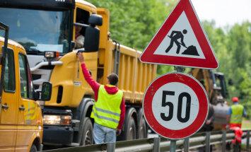 Kurzemē autovadītājiem jārēķinās ar plašiem satiksmes ierobežojumiem