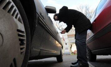 Šogad zagļi īpaši iecienījuši BMW; aktīvi zog arī 'Volkswagen' un 'Audi'