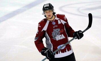 'Rīgas' hokejisti mazrezultatīvā cīņā piekāpjas Čehijas klubam 'Energie'