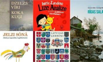 Deviņas skaistas grāmatas – 'Zelta ābeles' laureātes. Izvēlas Marta Elīna Martinsone