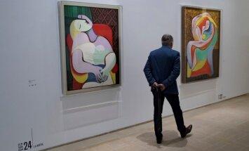 Foto: Parīzē atklāta unikāla izstāde 'Pikaso 1932: erotiskais gads'