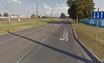 Ierobežos satiksmi Salaspils ielas posmā pie topošās 'Akropoles'