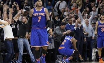 Entonijs neizprot 'Knicks' nākotnes vīziju