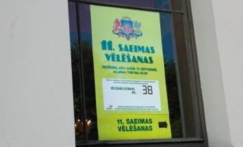 Latvijā pirmo reizi notiek Saeimas ārkārtas vēlēšanas