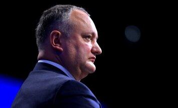 Dodons par nesadarbošanos pieprasa Moldovas aizsardzības ministra atkāpšanos