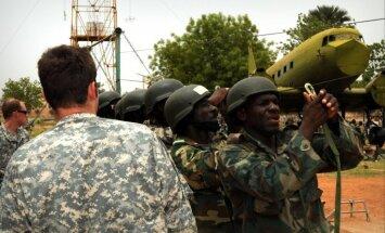 Klusais amerikāņu karš Āfrikā: 20 valstīs dislocēti 1700 karavīri