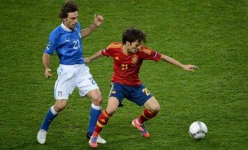 EURO 2012 simboliskajā izlasē iekļuvuši desmit Spānijas futbolisti