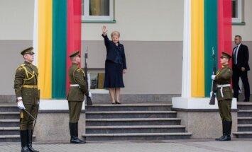 Foto: Grībauskaite inaugurēta otrajam prezidentūras termiņam