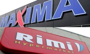 'Maxima' un 'Rimi' veikalos Lietuvas un Igaunijas piena produktu īpatsvars nav pieaudzis