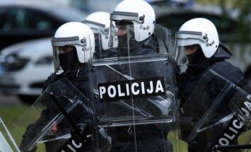 Valsts policija veic specoperāciju ēkā Saulkrastos