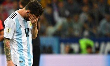 Nav skaidrības par Mesi atgriešanos Argentīnas izlasē