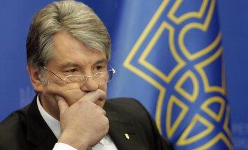 Bijušais Ukrainas prezidents Juščenko: Eiropā veidojas jauns dzelzs priekškars