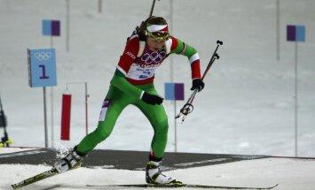 Domračova kļūst par pirmo trīskārtējo Soču olimpisko čempioni